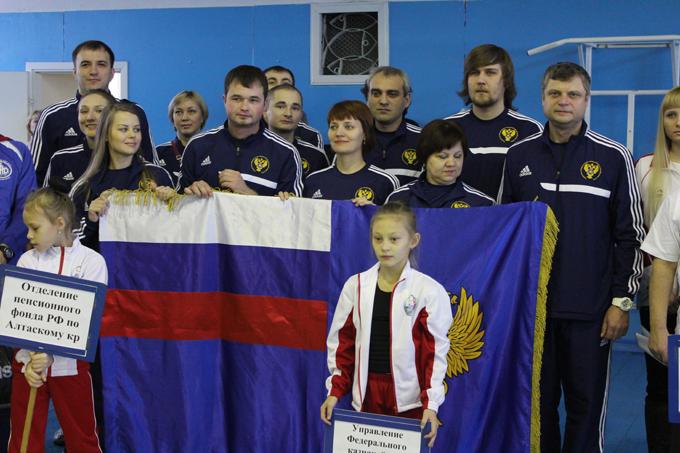 Алтайского края завоевала первое общекомандное место на х спартакиаде государственных гражданских служащих